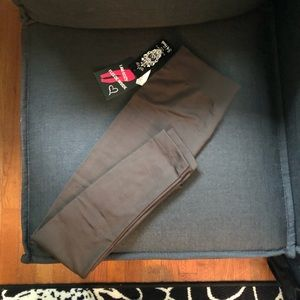 8 of Hearts Brown leggings, fleece lined sz. S